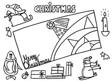 Christmas. Theme and motive on white background. vector image Royalty Free Stock Photo