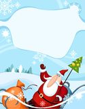 Christmas. Vector illustration of a christmas Royalty Free Stock Photos