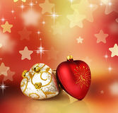Christmas. Beautiful Christmas Decoration.With copy-space stock photo