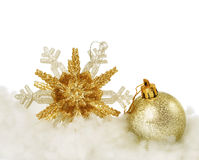 Christmas. Beautiful Christmas Decoration.With copy-space stock image