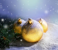 Christmas. Beautiful Christmas Scene.Selective focus royalty free stock photos