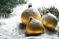 Christmas. Beautiful Christmas Scene. Selective focus stock photos