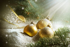 Christmas. Beautiful Christmas scene.Vintage styled royalty free stock photos