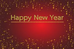 Happy New Year 2019. stock illustration