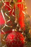 Christmas. Theme. Presents for Royalty Free Stock Image
