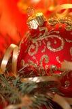 Christmas. Theme. Presents for Royalty Free Stock Photos