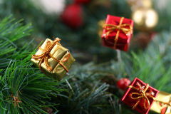 Christmas. Decoration - narrow focus, great for backgrounds Royalty Free Stock Photos