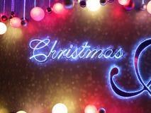 Christmas. With a nice bokeh Royalty Free Stock Photos