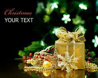 Christmas. Beautiful Christmas and New Year Greeting Card Royalty Free Stock Photos