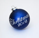Christmas 2012 decoration Royalty Free Stock Photography