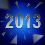 Christmas and 2013 New Year background Royalty Free Stock Photography