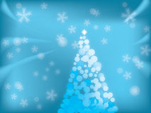 Christmas. Abstract Christmas background. Xmas illustration Royalty Free Stock Photo