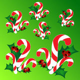 Christmas. Background with decorated branches of  tree Stock Photo