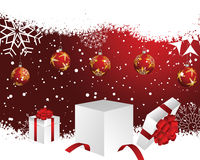 Christmas. And New Year background. Vector illustration. EPS 10 with transparency Royalty Free Stock Photos