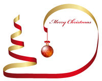 Christmas. And New Year background. Vector illustration Stock Photos