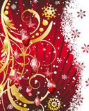 Christmas. Beautiful Christmas (New Year) card. Vector illustration with transparency and mesh EPS10 vector illustration