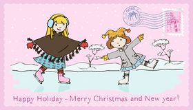 Christmas_3 libre illustration