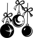 Christmas. Three Christmas Balls - Vector Image Royalty Free Stock Images