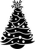 Christmas. Stylized Christmas Tree - Vector Image Stock Photo