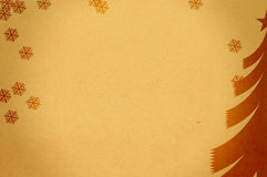 Christmas. Toned paper with christmas background design for your messages Royalty Free Stock Photos