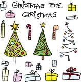Christmas. Theme and motive on white background. vector image Stock Photo