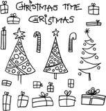 Christmas. Theme and motive on white background.  image Royalty Free Stock Photos