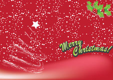 Christmas. Abstract Christmas reed background. Vector illustration Stock Image