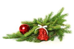 Christmas. A merry holiday is New Year! Much happiness will bring us Stock Image
