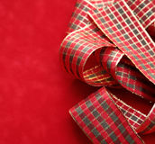 Christmas. Decorations on a red background Royalty Free Stock Photos