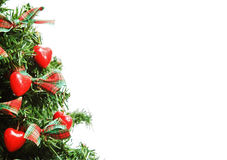 Christmas. Tree with lights and decorations Stock Photo