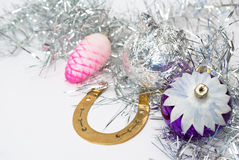 Christmas. Decoration toys for christmas day Stock Photography