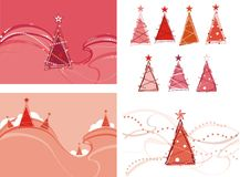 Christmas. Tree, Illustration and Painting royalty free illustration