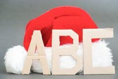 Christmas ABC Stock Image
