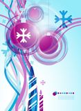 Christmas abstract _2 Royalty Free Stock Images