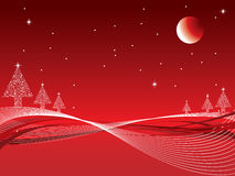 Christmas abstract Stock Image