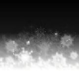 Christmas abstract art greeting card Stock Images