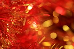 Christmas abstract background. Red pattern Stock Photos
