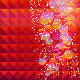 Christmas abstract background. Illustration for your design Royalty Free Stock Images