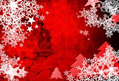Christmas abstract Background. Computer designed highly detailed grunge textured Royalty Free Stock Photo