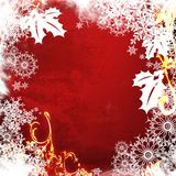 Christmas abstract Background. Computer designed highly detailed grunge textured Stock Photography