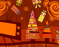 Christmas abstract background. Vector design element, saved as eps8 vector illustration