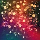 Christmas abstract background with bokeh light. Christmas abstract background with soft color bokeh light royalty free illustration