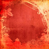 Christmas abstract Background frame Stock Photography