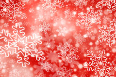 Christmas abstract  background with snowflake. Christmas red abstract  background with snowflakes Royalty Free Stock Photos