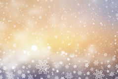 Christmas abstract  background with snowflake. S Stock Photo