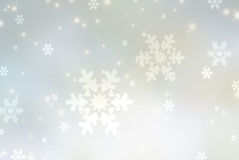 Christmas abstract  background with snowflake. S Royalty Free Stock Image