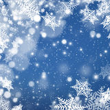 Christmas abstract  background with snowflake. S Royalty Free Stock Images