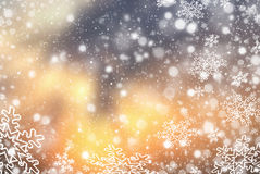 Christmas abstract  background with snowflake Royalty Free Stock Photography