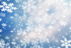 Christmas abstract  background with snowflake. S Royalty Free Stock Photos