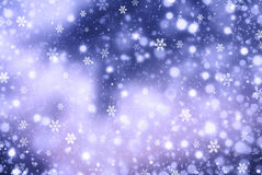 Christmas abstract  background with snowflake. S Royalty Free Stock Photography